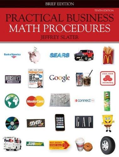 Practical Business Math Procedures Brief