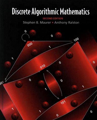 Discrete Algorithmic Mathematics