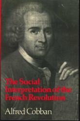 Social Interpretation Of The French Revolution