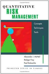 Quantitative Risk Management Concepts Techniques And Tools