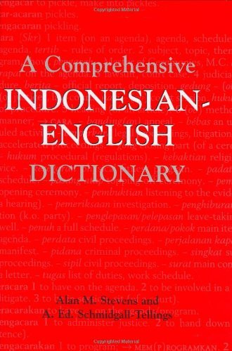 Comprehensive Indonesian-English Dictionary