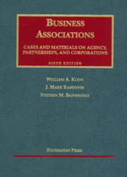 Business Associations Cases And Materials On Agency Partnerships And Corporations