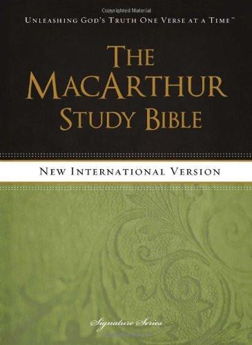 Macarthur Study Bible Niv