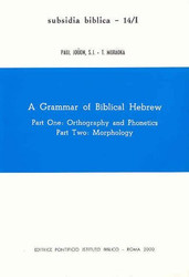Grammar Of Biblical Hebrew
