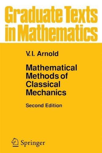 Mathematical Methods Of Classical Mechanics