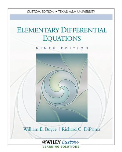 Elem.Differential Equations >C