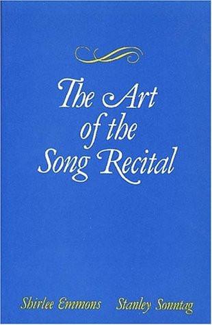 Art Of The Song Recital