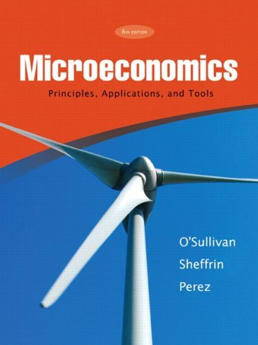 Microeconomics Principles Applications And Tools