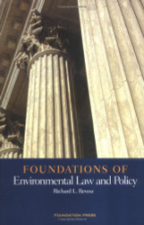 Foundations Of Environmental Law And Policy