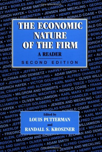 Economic Nature Of The Firm