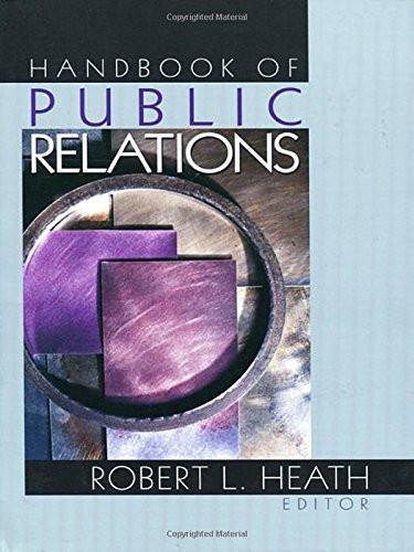 Sage Handbook Of Public Relations