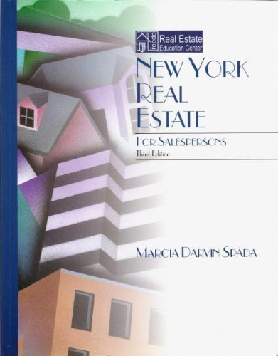 New York Real Estate For Salepersons Special Education