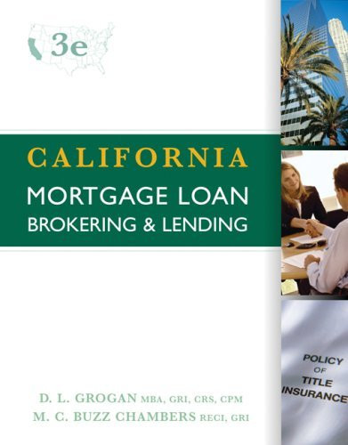 California Mortgage Brokering And Lending