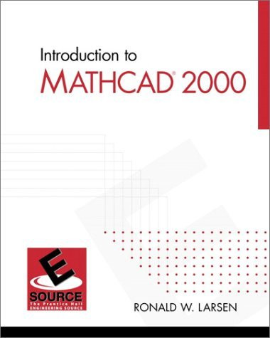 Introduction To Mathcad 15