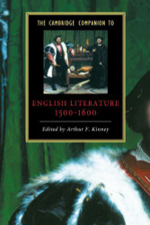 Cambridge Companion To English Literature 1500-1600