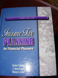 Income Tax Planning For Financial Planners