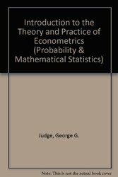 Introduction To The Theory And Practice Of Econometrics