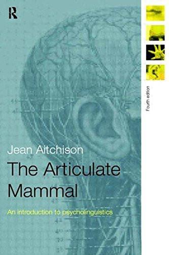Articulate Mammal