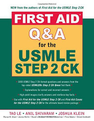 First Aid Qanda For The Usmle Step 2 Ck