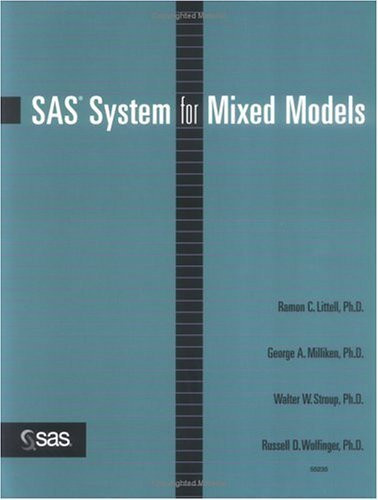 Sas System For Mixed Models
