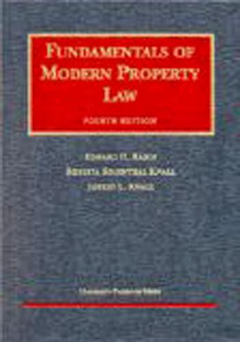 Fundamentals Of Modern Property Law