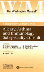 Washington Manual Of Allergy Asthma And Immunology Subspecialty Consult