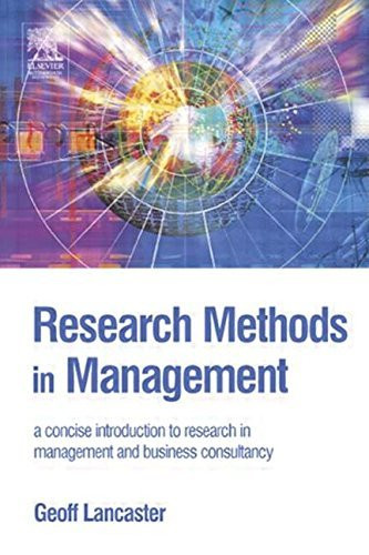 Research Methods In Management