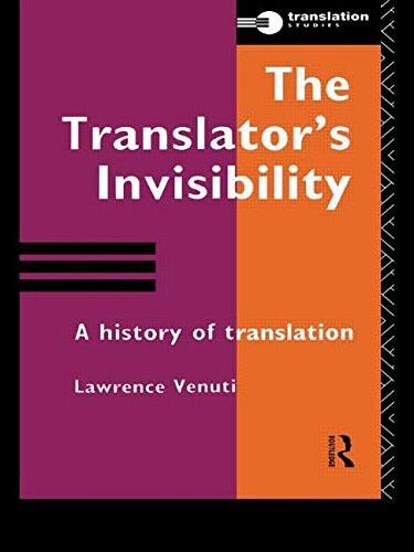 Translator's Invisibility