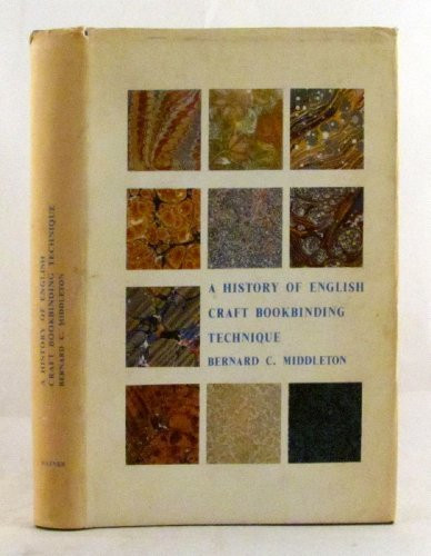 History Of English Craft Bookbinding Technique