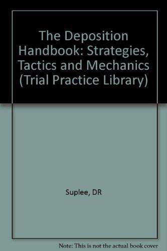Deposition Handbook