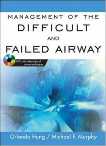 Management Of The Difficult And Failed Airway