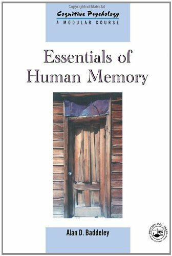 Essentials Of Human Memory