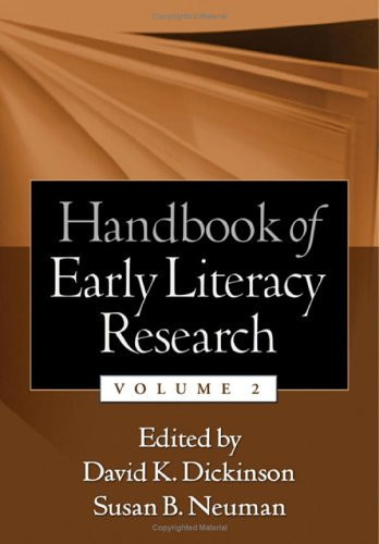 Handbook Of Early Literacy Research Volume 2