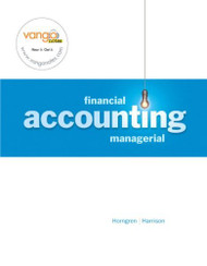 Horngren's Financial And Managerial Accounting
