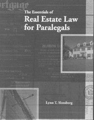 Essentials Of Real Estate Law For Paralegals