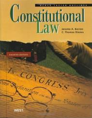 Black Letter Outline On Constitutional Law