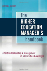 Higher Education Manager's Handbook