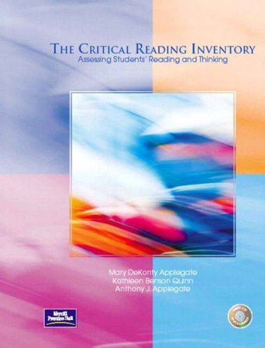 Critical Reading Inventory