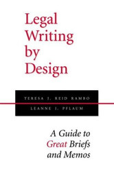 Legal Writing By Design
