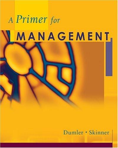 Primer For Management