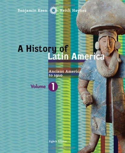 History Of Latin America Volume 1