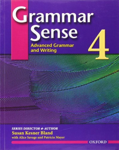 Grammar Sense 4 Student Book With Online Practice Access Code Card