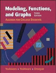 Modeling Functions And Graphs