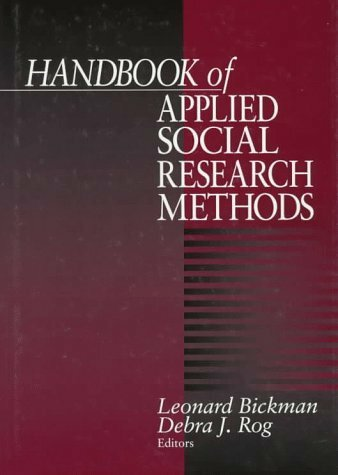 Sage Handbook Of Applied Social Research Methods