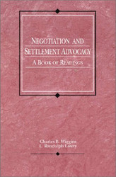 Negotiation And Settlement Advocacy