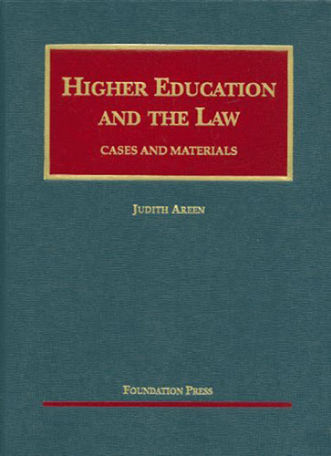 Higher Education And The Law