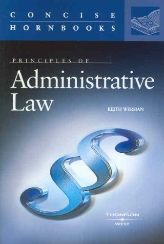 Principles Of Administrative Law
