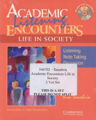 Academic Encounters Level 3 2 Book Set