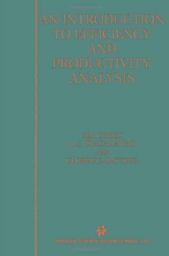Introduction To Efficiency And Productivity Analysis