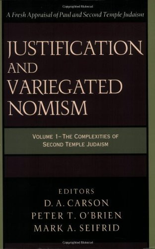 Justification And Variegated Nomism